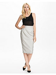 River Island PU Harvey Skirt