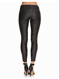 River Island PU Tube Pants