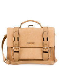 River Island Camel Large Satchel