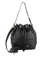 River Island Croc Quilted Duffle
