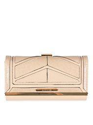 River Island Chevron Deco Cliptop Purse