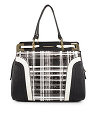 River Island Check Cutabout Ladylike Bag