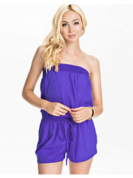 River Island Bandeau Playsuit