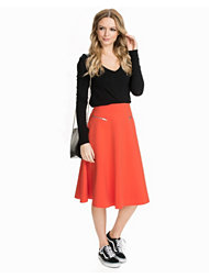 River Island Zip Pocket Full Midi Skirt
