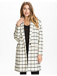 River Island Swagger Grid Check Jacket