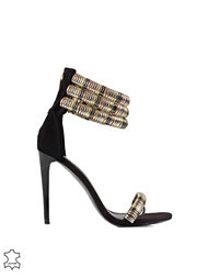 River Island Decorated Sandal