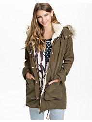 River Island Zip Pocket Parka