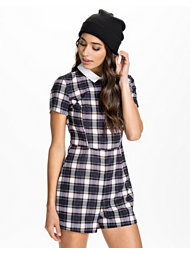 River Island Collared Playsuit