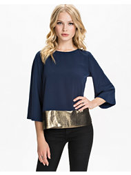 River Island Angel Sleeve LS Top