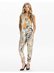 River Island Blocked Jumpsuit