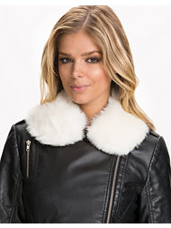River Island Faux Fur Collar