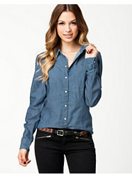 Jacqueline de Yong Apolo Denim Shirt