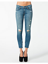 Rag & Bone Zipper Capri Jeans