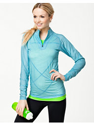 Pure Lime Intense 1/2 Zipper Top