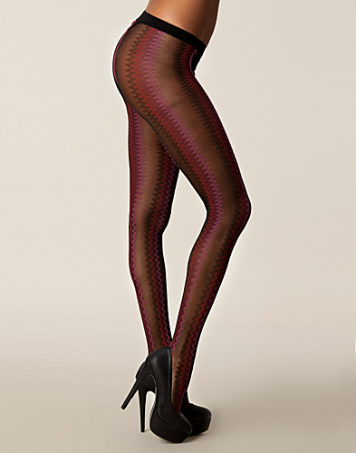 TIGHTS & STAY-UPS - DIM / MOTIF ZIG ZAG - NELLY.COM