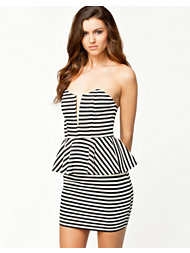 Notion 1.3 Peplum Striped Dress