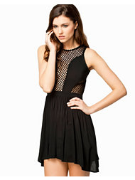 Notion 1.3 Skater Mesh Dress