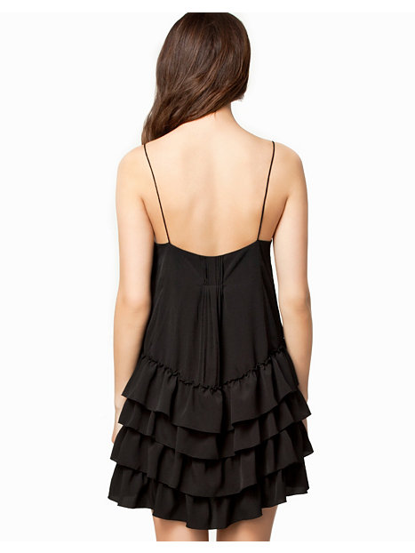 Loose Frill Dress