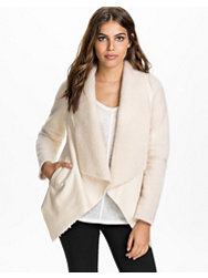 Notion 1.3 Draped Teddy Jacket