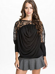 Notion 1.3 Drapy Lace Top