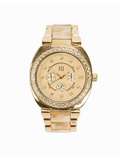 horn bling river island gold watches
