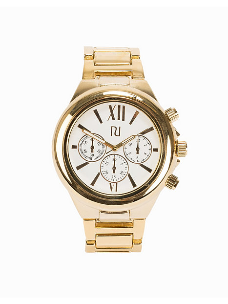 osized k river island gold watches