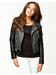 Noisy May Janny Short PU Jacket