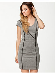 Noisy May Mally Short Zip Dress