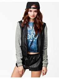 Noisy May Jenna Short PU Jacket