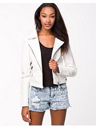 Noisy May Mila Short PU Jacket