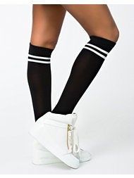 Noisy May Jenner Stripe Sock