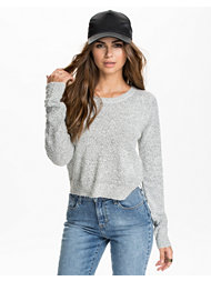 Noisy May Tina Cropped Knit Top