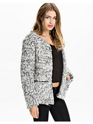 Noisy May Tanya Fake Fur Jacket