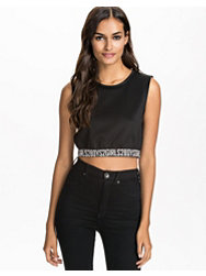 Noisy May Lista Cropped Top