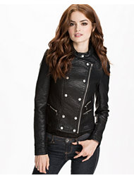 Noisy May Skylar Short PU Jacket