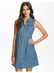 Noisy May Desiree Short Denim Dress