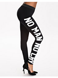 Noisy May No Man No Cry Leggings