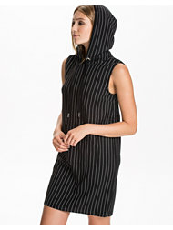 Noisy May Pin Hood Short Dress