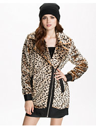 Noisy May Elisabeth Fake Fur Jacket