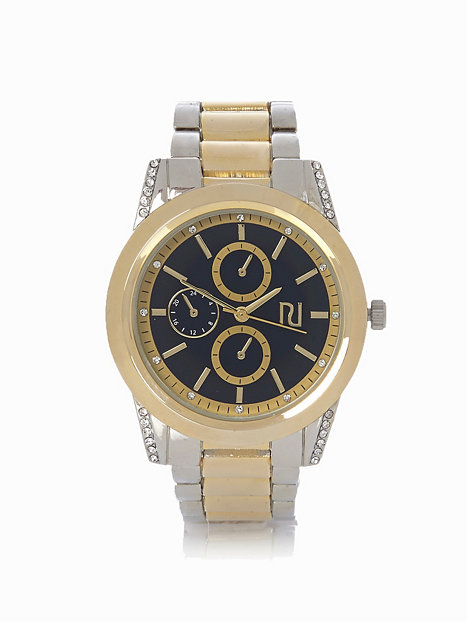 mixed metal river island metal watches