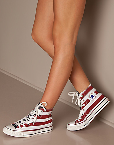 VARDAGSSKOR - CONVERSE / ALL STAR STARS & BARS HI - NELLY.COM