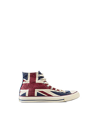 VARDAGSSKOR - CONVERSE / ALL STAR UNION JACK HI - NELLY.COM