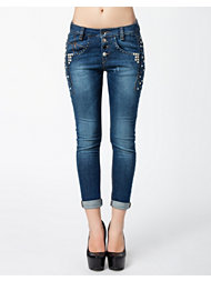 Fornarina Sompey Stretch Denim Pant