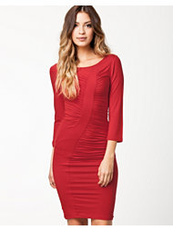 Fornarina Perth Dress Red Stretch Rayon Dress