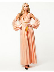 NLY Eve Pleated Plunge Dress