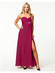 NLY Eve Tube High Split Dress