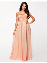 NLY Eve Strapless Decor Dress