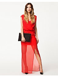 NLY Eve Draped Front Dress