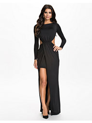 NLY Eve Bare Back Slit Dress
