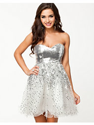 NLY Eve Faded Sequin Dress